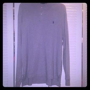 Polo Ralph Lauren long-sleeve polo shirt | sz L
